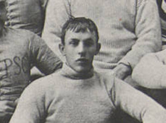 Charley Aull - Aull pictured c. 1891 at Penn State