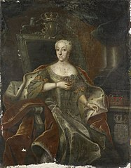 Portrait of Princess Charlotte Amalie, Daughter of Frederick IV, King of Denmark