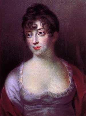 Duchess Charlotte Frederica of Mecklenburg-Schwerin - Painting by Hans Christian Vantore