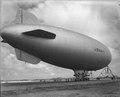 Chegada do dirigível americano para o patrulhamento do Atlântico..tif