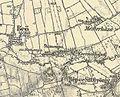 Chernelházadamonya on Military Map 1869-1887.jpg