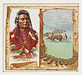 Chief Joseph, Nez Perces, from the American Indian Chiefs series (N36) for Allen & Ginter Cigarettes MET DP838933.jpg