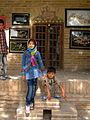 Children in Ribat-i-Abbasi of Nishapur (Hossein - Ali - Fatemeh - Hengameh and another girl - probably Afghani) 23.jpg