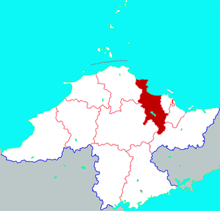 Fushan District District in Shandong, Peoples Republic of China