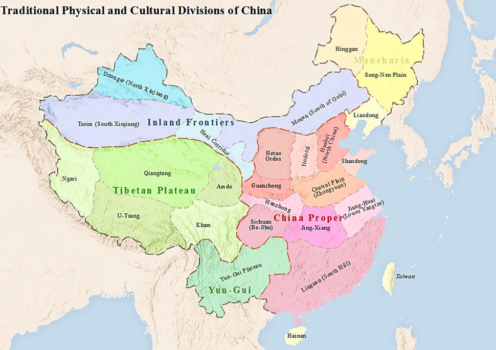 China Traditional Divisions