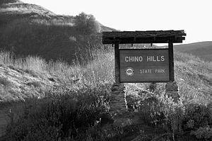 Chino Hills State Park - Image: Chino hills state park sign