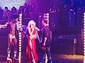 Choreographer Paul Becker and Lady Gaga on Set.jpg
