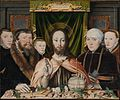 Christ Blessing, Surrounded by a Donor Family MET DP283522.jpg