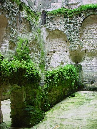 Fulk III, Count of Anjou - Fulk Nerras castle keep at Loches.