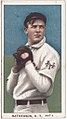 Christy Mathewson, New York Giants, baseball card portrait LCCN2008676493.jpg