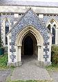 Church of the Holy Cross, Goodnestone - south porch 02.jpg