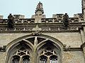 Church of the Holy Cross Great Ponton Lincolnshire England - tower parapet and gargoyles.jpg