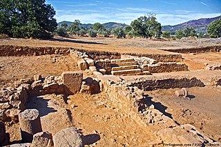 Roman villa of Ammaia Roman ruins in Portugal