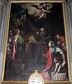 Cigoli, eraclio porta la croce in gerusalemme, 1594, 01.JPG