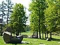 Cikánský pracovní a koncentrační tábor Lety , památník 02.jpg