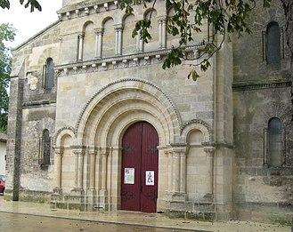 Cissac-Médoc - Image: Cissac Médoc, Gironde, église Sainte Marie bu IMG 1354
