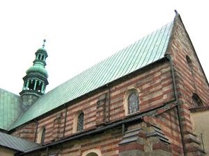 Wąchock - Romanesque monastery in Wąchock
