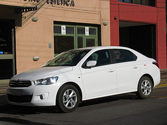 Citroën Elysée - Citroën C-Elysée in Chile