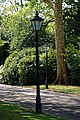 City of London Cemetery Chapel Avenue street lights 1.jpg