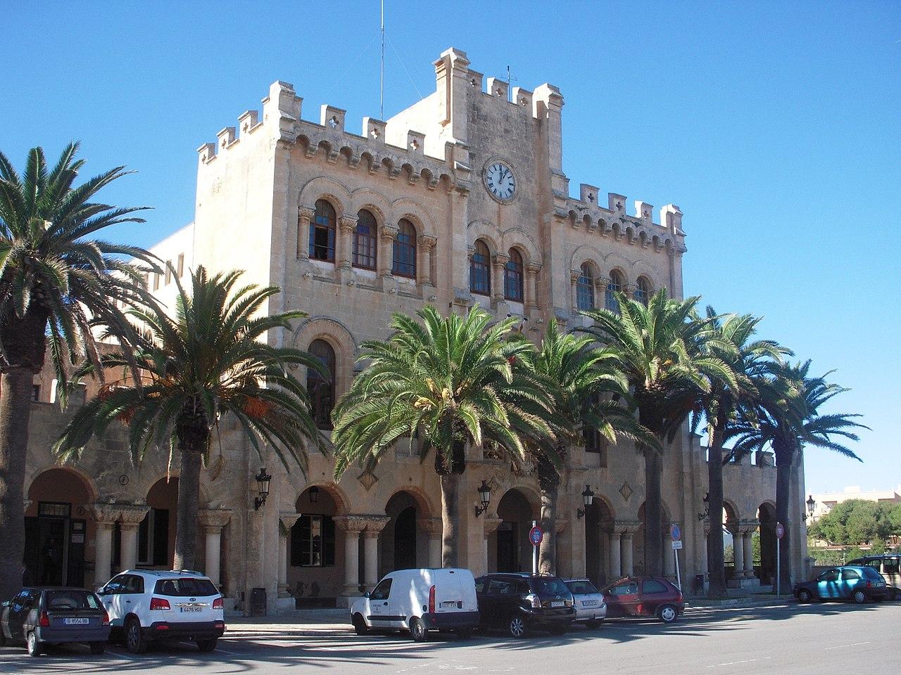 Ayuntamiento, Ciudadela, Menorca
