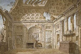 Ruins of a Roman Room