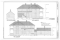 Clardy-Lee House, State Highway 26, Center Point, Howard County, AR HABS ARK,31-CEPO,1- (sheet 5 of 10).png