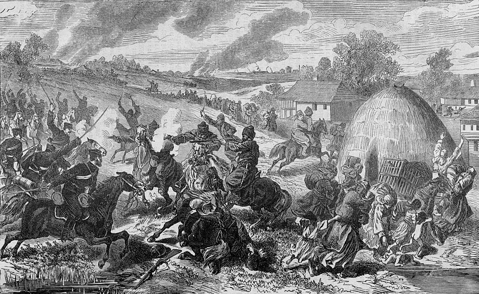 Clash with Cherkessians