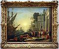 Claude lorrain, lo sbarco di cleopatra a tarso, 1642-43.jpg