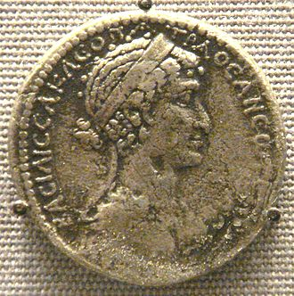 Ptolemaic coinage - Tetradrachm of Cleopatra VII Philopator, the last ruler of the Ptolemaic Kingdom