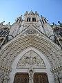 Clocher de la basilique Saint Epvre de Nancy en contre plongée.jpg