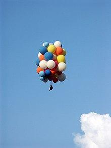 Balloon flight[edit] & Larry Walters - Wikipedia
