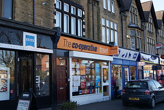 The Co-operative Travel - A branch of The Co-operative Travel in Roundhay, Leeds.