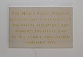 Codd (Moira) plaque, St Charles Borromeo, Aigburth Road.jpg