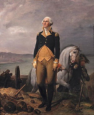 Philadelphia campaign - Portrait of George Washington by Léon Cogniet