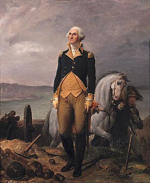 Philadelphia campaign - Portrait of George Washington by Léon Cogniet