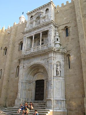 Renaissance architecture in Portugal - Porta Especiosa of Coimbra Cathedral (1530s)