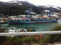 Cold morning loading at Port Chalmers - panoramio.jpg