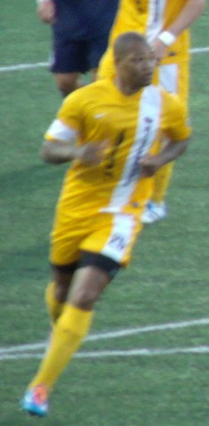 Collins John - John with Riverhounds, 2014