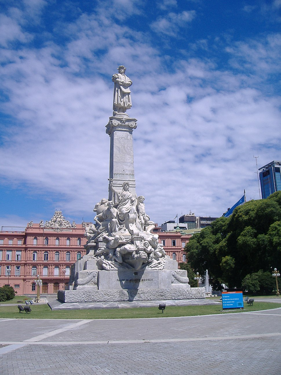 Colombus Monument Buenos Aires