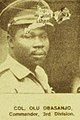 Colonel Olu Obasanjo - ASC Leiden - Rietveld Collection - Nigeria 1970 - 1973 - 01 - 093 New Nigerian newspaper page 7 January 1970. End of the Nigerian civil war with Biafra (cropped).jpg
