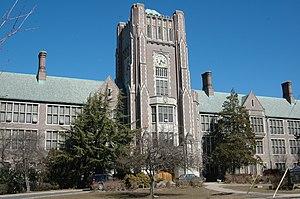 Columbia High School (New Jersey) - Image: Columbia High School Maplewood NJ