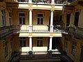 Columns and access balconies, 3 Hunyadi square, 2018 Terézváros.jpg