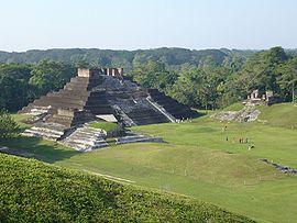 Pir�mides de Comalcalco