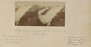 Vista da principal cachoeira superior de Paulo Affonso