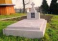 Commemorative plate on the grave of priest Kazymyr Hermak (1862 - 1934).JPG