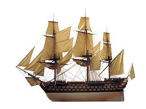 French ship Commerce de Marseille (1788) - Image: Commerce de Marseille IMG 5773