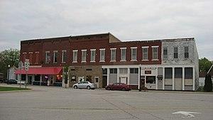 Worthington, Indiana - Downtown Worthington