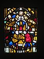 Composite panel, English, 13 century, Medieval stained glass, Worcester Art Museum - IMG 7483.JPG