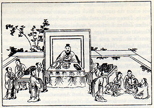 Confucius and his students1