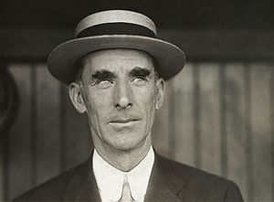 Connie Mack, as manager of the Philadelphia At...